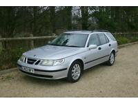 DIESEL AUTOMATIC ESTATE Saab 9-5 2.2TiD Linear with SERVICE HISTORY and NEW MOT