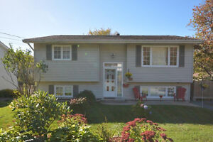 NEW LISTING - Mint condition 3 bedroom 2 bath split entry home