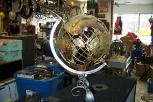 Copper Hand Crafted Globe of the World