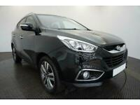 2015 BLACK HYUNDAI IX35 1.7 CRDI BLUEDRIVE PREMIUM 2WD CAR FINANCE FR £145 PCM