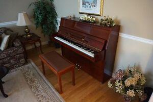 Wurlitzer Contemporay Upright Console Piano