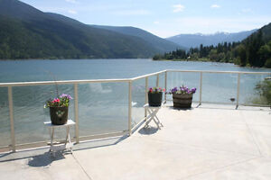 Nelson BC Watertont House for Sale