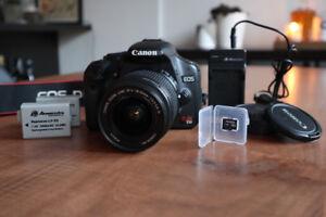 Ensemble de caméra Canon EOS Rebel T1i Camera Kit