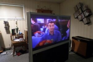 Free: Big screen television. In excellent condition.