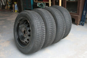 4 Michelin Winter tires and rims