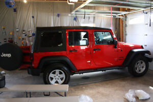 Factory Jeep Soft Top
