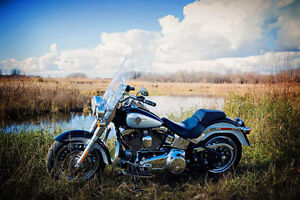 2012 Beautiful 2 Tone Harley Davidson Fatboy