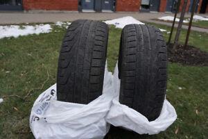 Pirelli Winter SOTTOZERO SERIE II Run Flat Tires 225/45R18
