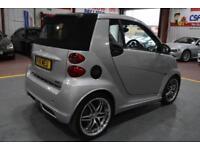 2011 11 SMART FORTWO CABRIO 1.0 BRABUS XCLUSIVE 2D AUTO 102 BHP