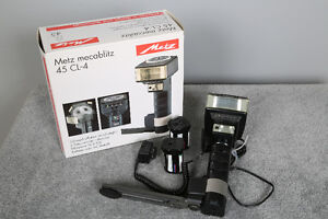 Used Metz flash 45CL-4 CAN DEDICATED
