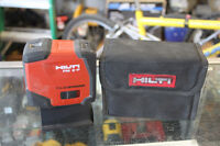 Hilti PM 2-P Point Laser with Pouch Winnipeg Manitoba Preview