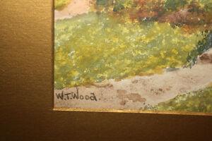 W.T. Wood Watercolor Painting Belleville Belleville Area image 2