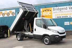 2015 IVECO DAILY 35C13 3450 WB HI-MATIC AUTOMATIC DIESEL TIPPER, INCREDIBLY RARE