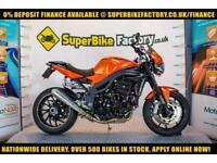 2008 58 TRIUMPH SPEED TRIPLE 1050CC