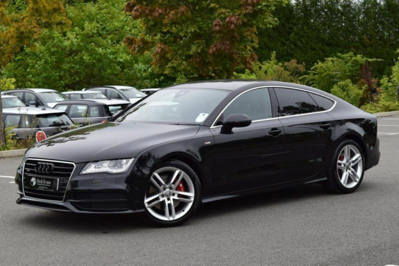 2013 63 audi a7 3 0 tdi quattro s line 5d auto 245 bhp. Black Bedroom Furniture Sets. Home Design Ideas