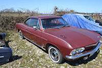 Vintage Cars and parts for sale