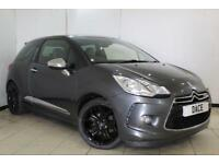 2012 62 CITROEN DS3 1.6 E-HDI AIRDREAM DSPORT PLUS 3DR 111 BHP DIESEL