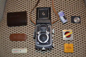 Yashica-635 Camera Excellent Condition