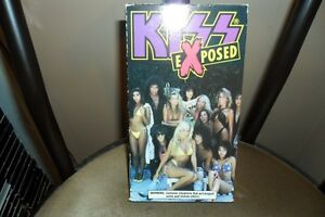 KISS EXPOSED  VHS