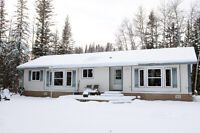 Creek Side Home On Acreage. // 5 Min West of Town Of Hinton.