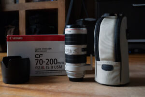 Canon 70-200mm 2.8 IS USM serie II