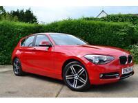 2013 BMW 1 SERIES 116I SPORT AUTO 5DR START/STOP HATCHBACK PETROL