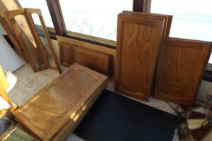 Large variety of Kitchen Oak doors and other doors