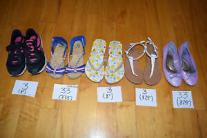 Lot sandals espadrilles filles Grnd 3/running shoes sandal girl