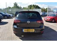 2015 15 VOLKSWAGEN GOLF 2.0 GTD DSG 3D AUTO-BLACK LEATHER-SATNAV-GREAT SPECIFICA