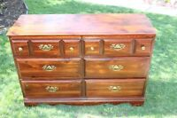 AWESOME DEAL. Mahogany Dresser with mirror.