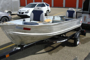 12 foot aluminum fishing boat