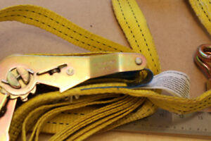 RATCHET STRAP Heavy-Duty,  smooth Action, EXCELLENT Condition !!