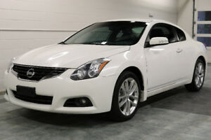 2012 NISSAN ALTIMA 3.5SR COUPE - 6SPEED NAV CAMERA BOSE LEATHER