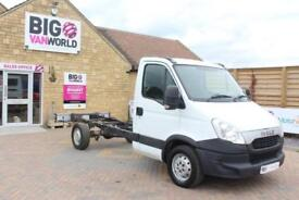 2013 IVECO DAILY 35S11 SINGLE CAB CHASSIS CAB 3750 WB CHASSIS CAB DIESEL