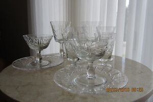 Cross and Olive Glass Ware