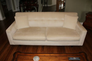 Dorset Sofa by Rowe - champagne colour (ivory)