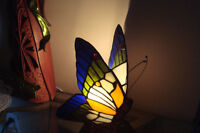Vintage Tiffany Butterfly lamp