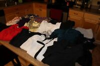 Bag full of sizes L/XL clothes (21 items) in good condition