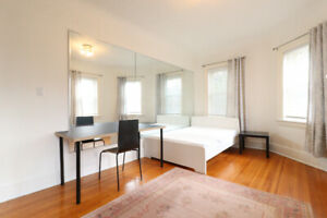 Furnished bedroom  - Dundas/Beatrice