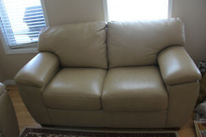 Lazboy genuine leather lover seat for sell