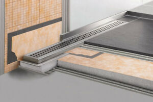 Schluter Kerdi Line Drain Grates - Perforated