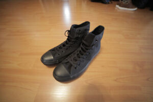 Brand New Black Converse High Tops Mens 8.5 - Never been worn