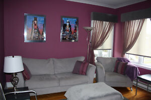 3½ tout meublé, services inclus / fully furnished with utilities