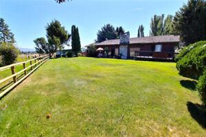 8 Acres with Custom Home in Kamloops