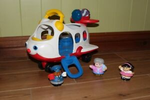 Avion Fisher Price Little People avec sons
