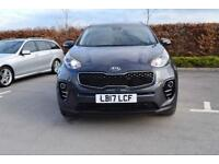 2017 KIA SPORTAGE Kia New Sportage 1.7 CRDi 3 5dr 2WD [Panoramic Sunroof]