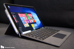 Laptop 16gb Ram 512gb SSD touchscreen Surface Pro Microsoft