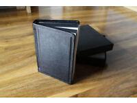 7x5 inch bookbound 10 page (20 side) prestige leather wedding album