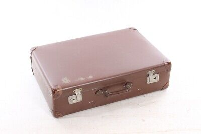 Suitcase briefcase briefcase leather suitcase case maker L.B Rosenhain Berlin Vintage