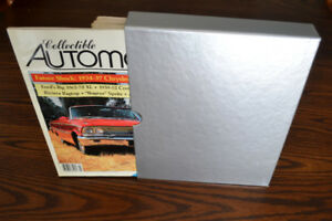Collectible Automobile magazines - a rare complete set from 1986